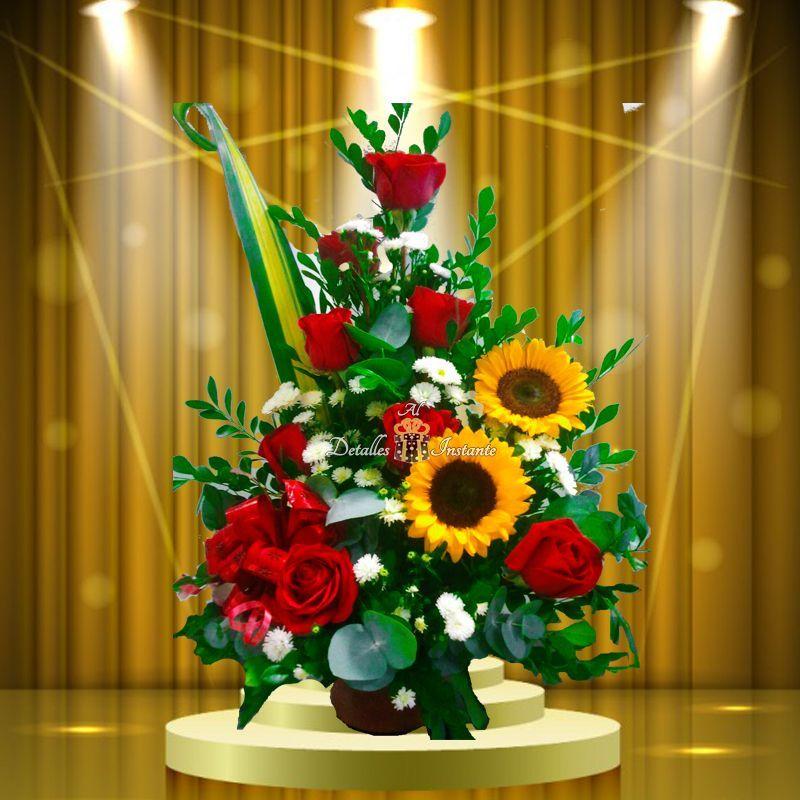ramo de flores pequeño