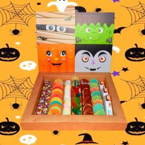 golosinas y gomitas en caja para niño en halloween Bogota envio a domicilio octubre 2020