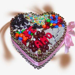 Torta con dulces para enamorar Bogotá  domicilios
