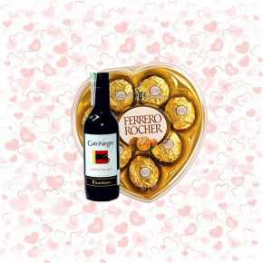 Chocolates Ferrero Corazón...