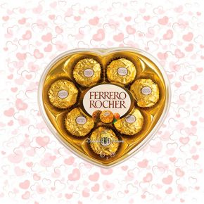 Chocolates Ferrero Rocher Corazón