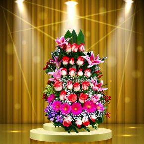 arreglos de flores con rosas grandes